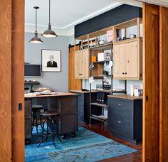 Caudor Street - contemporary - home office - san diego - Corine Maggio Natural Designs