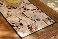 Quilted Table Runner  Coffee Table Runner  by RedNeedleQuilts