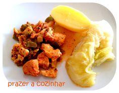 Prazer a cozinhar: Peitos de frango com pimentos