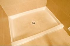 A shower pan is a fiberglass base for the shower, cut a hole in it and mount the toiled in the actual shower base. This is a pretty general instruction page. Deep Cleaning Tips, House Cleaning Tips, Cleaning Hacks, Cleaning Solutions, Cleaning Products, Cleaning Recipes, Cleaning Chemicals, Organizing Tips, Home Design