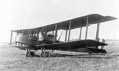 Gotha G.V German bomber.