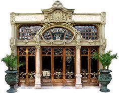 Cafe Majestic, Porto, alleen al voor het interieur een kopje koffie gaan drinken