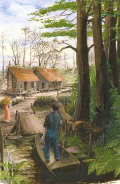 Cajun Country. Would love a print like this for the house
