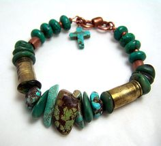 Bullet shell bracelet ammo jewelry Bullet Casing by jwstyle, $56.00