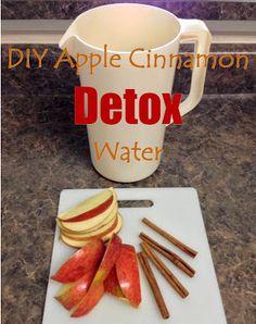 {BLOGGED}: DIY Apple Cinnamon Detox Water