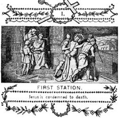 LENT - Stations of the Cross (vintage printables) these would make nice gifts for the newbies...