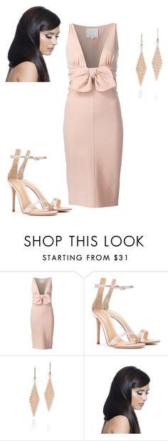 """Untitled #335"" by vickie-lyons-hall ❤ liked on Polyvore featuring Dsquared2, Gianvito Rossi, Tiffany & Co. and Donna Bella Designs"