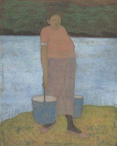 Léon Spilliaert : De waterdraagster