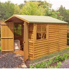 Found it at Wayfair.co.uk - 10 x 7 Wooden Storage Shed