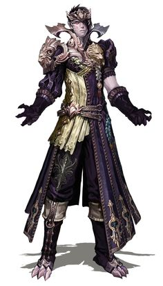 Male Forgotten Abyssal Chain Armor from Aion