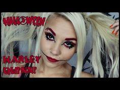 Harley Quinn makeup tutorial