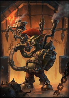 ArtStation - Goblin Firestarter Fan Art, Todor Hristov