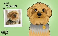 Meet Taisa #petportrait #art #illustration #petsketch #dogsketch #dogs #pencilsketch