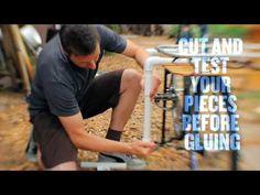 DIY Surfboard Bike Rack - Surf Sufficient - YouTube