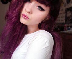 dark burgundy hair - Google Search
