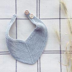 Knitted Dishcloth Patterns Free, Knit Dishcloth, Baby Knitting Patterns, Baby Patterns, Knitted Baby Clothes, Crochet Clothes, Knitted Hats, Bandana Bib Pattern, Crochet Baby