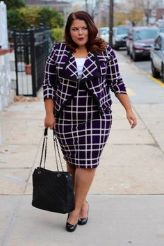 Plus Size Work Outfit - Plus Size Fashion for Women