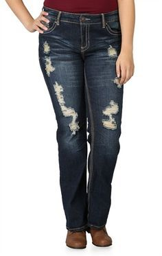d32ce744774 Christmas List! Curvy FitFlare JeansFit And FlareSoldiersBootleg Jeans. Deb Plus  Size Ariya ...