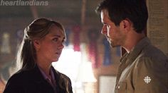 Heartland 9x04 - Season 9, Episode 4 - Ty comforting Amy after putting Paint…