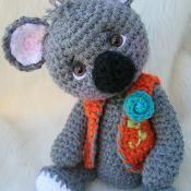 Koala Bear, Simply Cute Crochet Pattern - via @Craftsy
