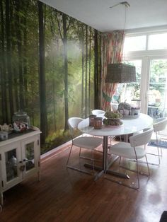 Our green photowall @ home
