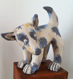Kleiner Hund aus Keramik - Tierfiguren                                                                                                                                                                                 Mehr