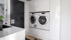 Mudroom, Laundry Room, Washing Machine, Interior Decorating, Home Appliances, Kitchen, House Ideas, Google, Cloakroom Basin