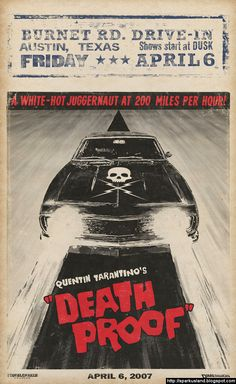 Grindhouse / Death Proof Poster