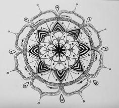 Mandala #12  #mandala #calma #patrones #doodles #felicidad #handmaid #!
