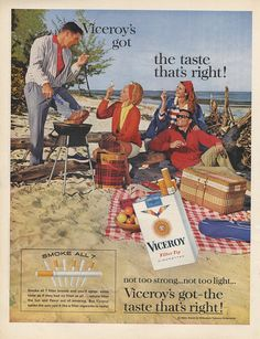 Instant access to historical digital collections. Vintage Advertisements, Vintage Ads, British American Tobacco, Vintage Cigarette Ads, Both Sides, Pop Culture, Smoking, The Past, Advertising