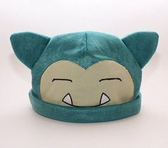 1 X Pokemon Snorlax Cosplay Soft Cute Plush Toy Cap Warm Soft Hat #HiRudolph