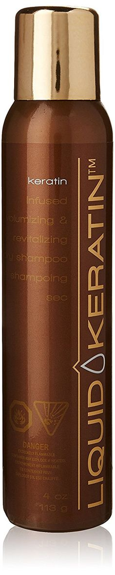 Liquid Keratin Infused Volumizing and Revitalizing Dry Shampoo, 4 Fluid Ounce >>> Additional details at the pin image, click it : Hair Shampoo Hair Shampoo, Dry Shampoo, Pin Image, Image Link, Keratin Complex, Natural Protein, Hair A, Treat Yourself