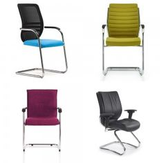 Some prefer a cantilever style (chair without wheels/ castors) for a home office chair...