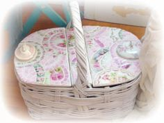 Mosaic ChickDesign~Mosaic Basket-SOLD https://www.facebook.com/pages/Mosaic-Chick-Design/216734331705852?ref=hl