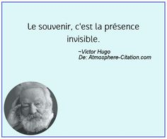 Memory - it is the invisible presence. Citations Souvenirs, Citations Victor Hugo, Book Quotes, Me Quotes, Quote Citation, Memories Quotes, Book Writer, French Quotes, In Vino Veritas