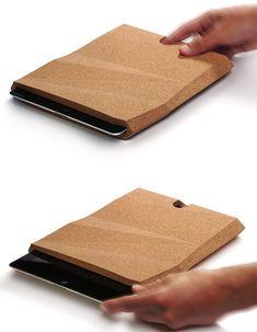 iPadCorkCase by Pomm Design Studio | Inspiration Grid | Design Inspiration