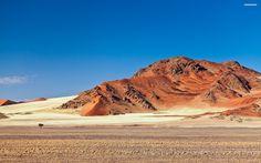 Desert Mountain   Wallpaper