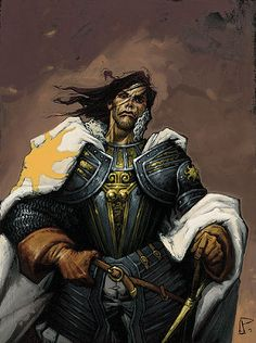Traditionally, the Lord Captain Commander resides in the Fortress of the Light in Amador, where he directs the Children of the Light. Fantasy Comics, Fantasy Series, Fantasy Books, Wheel Of Times, Wheel Of Time Books, Bicycle Crafts, Robert Jordan, Portrait Images, Sci Fi Books