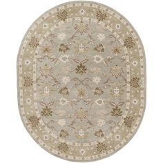 World Menagerie Topaz Dark Olive Green Area Rug Rug Size: 2' x 3'