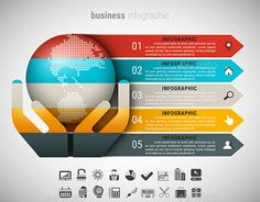 Business Infographic Template PSD, Vector EPS, AI. Download here: http://graphicriver.net/item/business-infographic/14350380?ref=ksioks