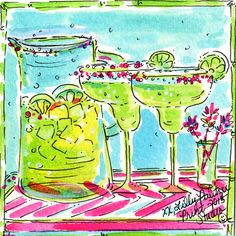 Happy National Margarita Day, Lilly Lovers! Be sure to treat yourselves today.  Follow us on instagram @lillypulitzer. #lilly5x5