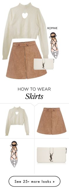 """""""I got the hearts for you"""" by lseed87 on Polyvore featuring Raye, Yves Saint Laurent, women's clothing, women's fashion, women, female, woman, misses and juniors"""