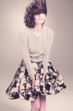 Alexa Chung has great style and Madewell is relatively inexpensive.