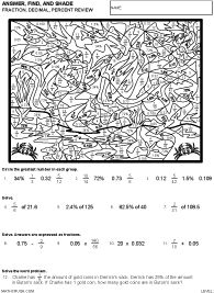 math worksheet : preview of answer find and shade greatest common factor  level  : Math Art Worksheets