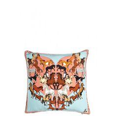 Elegant Equines Pillow