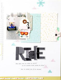 Random Ramblings...: Ride - Studio Calico July Kits