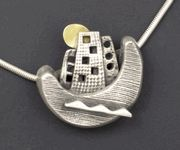 Floating City pendant by Hadar Jacobson...