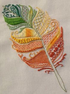 Marvelous Crewel Embroidery Long Short Soft Shading In Colors Ideas. Enchanting Crewel Embroidery Long Short Soft Shading In Colors Ideas. Hand Embroidery Stitches, Crewel Embroidery, Hand Embroidery Designs, Embroidery Techniques, Embroidery Applique, Beaded Embroidery, Cross Stitch Embroidery, Machine Embroidery, Embroidery Needles