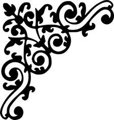Flourish - Scrolls : Chrissies Custom Creations!, Handcrafted ... - ClipArt Best - ClipArt Best