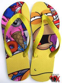 Chinelo Homer Simpson R$25,00
